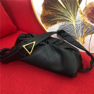 Bolsa de Ombro de couro do desenhador das mulheres Bag Handbag Satchel nuvem saco Unisex Carteira