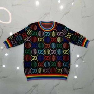 بلايز 2020 جودة AAAAAA حار بيع العلامة التجارية فاخر مصمم المحملات T-shirt إمرأة