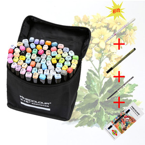 Finecolour EF102 Double-headed Soft Brush Tip Markers 480 Colors Professional Manga Premier Sketch Art Markers Pen for Drawing