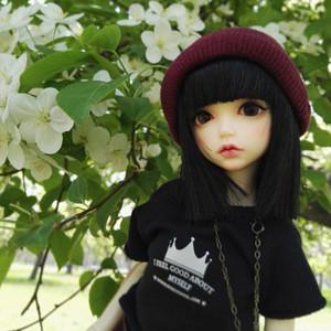 Regalo di compleanno sveglio della ragazza della bambola della resina di Lonnies della bambola BJD / SD di 1/6 BJD trasporto libero