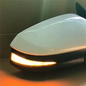 مرآة الرؤية الخلفية الجانبية للجناح الجانبي بعد الحركة الوامضة المتسلسلة أدت أضواء إشارة إشارة ديناميكية إلى رحلة تويوتا هايلاندر