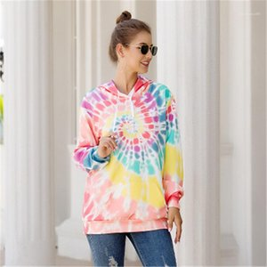Hoodies Fahion Trend Long Sleeve Sweatshirt Tops Hip Hop Street Casual Pullovers Designer New Female Hoodies Women Loose Printed