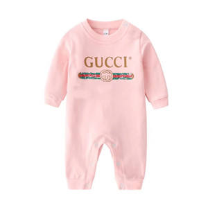 Brand Clothes Baby Long Sleeve Rompers Newborn Cotton Jumpsuits Spring Autumn Toddler Onesies Infant Clothing One-piece 0-2Years