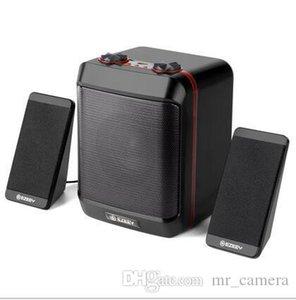 مفكرة سطح المكتب صغيرة الصوت 2.1 مضخم صوت مكبرات الصوت البسيطة USB باس ثقيل مكبر الصوت مربع المواد البلاستيكية