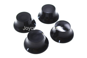 1 Set of 4pcs Niko Black Top Hat Sign Electric Guitar Knobs For LP SG Style Electric Guitar Free Shipping Wholesales