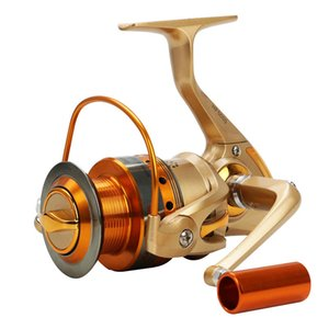 Ufishing 베이트 캐스팅 릴 12BB 잉어 낚시 릴 Molinete 드 PESCA 스피닝 릴 HF1000-8000 금속 낚시