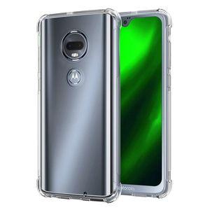 Casos TPU de protecção para Moto E6 Metro G7 Além disso G6 jogo Motorola Z3 Jogar G7 Poder E5 G7 Anti Choque Airbag Cristal Tampa