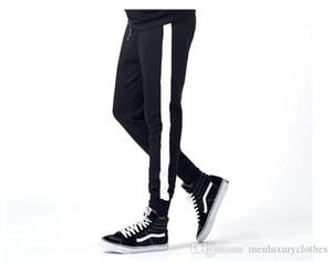Designer Stylish Pants Herren Hiphop Striped Jogger Pants Designer High Street Sports Beiläufige Bleistifthosen Teenagerkleidung