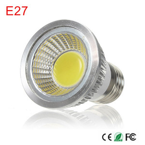 High quality COB LED spotlight AC 220V E27 LED bulb 9W ceiling spotlight