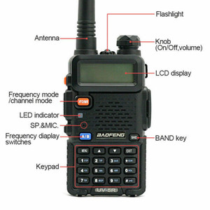 BF UV-5R Two Way Radio Scanner Hand Polizei Feuerwehr HAM Wireless Transceiver