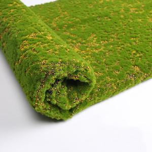 100 * 100cm Erba Mat verde artificiale Prati Turf Tappeti falso matrimonio Decorazione Sod giardino della casa Moss Floor fai da te