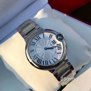 2020 New Arrival qualidade superior das mulheres dos homens Relógios 316L Correia de aço inoxidável Quartz Lady Moda relógio de pulso com caixa de presente Reloj Orologio