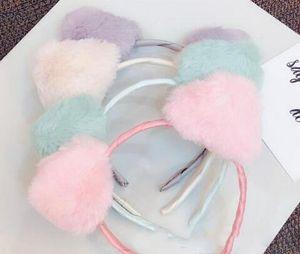 Plush hair band cute, super sprouting sweet fresh head hoop girl heart adorn cat ear Lady Lady hairpin 20pcs lot