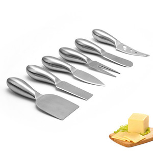 Cheese Knives Set Stainless Steel Slicer Cheese Cutter Kitchen Knives Cake Butter Cheese Spreader Kitchen Tools