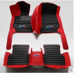 Convient pour BMW Série 5 2011-2020 luxe sur mesure All Weather antidérapante imperméable Tapis de sol voiture non toxiques et inodores