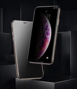 Verre trempé pour iPhone 11 / 11Pro / 11ProMax Privacy Filter Peeping Confidentialité Protection Film verre Film de protection écran en acier