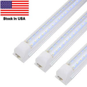 Vobi a LED integrati a formazione a V Light 4FT 5ft 6ft 8ft Tubo a LED T8 72W 100W Bulbs Doppio lati Bulbs Shop Light Cooler Porta Light