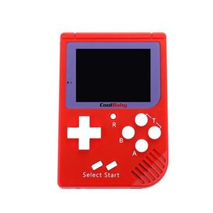 CoolBaby Mini Consoles de jeu portables RS-6 Portable Retro Mini Console de jeu RS 6 Couleur LCD Player 2,5 pouces pour FC Game MQ50