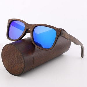 Retro Men's Sunglasses Polarized UV400 Travel Outdoor Glasses Handmade Bamboo Sunglasses Men and Women Christmas Birthday Gifts
