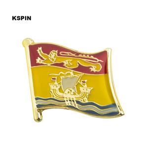 Distintivo QUEBEC Bandiera Badge Bandiera Pin sul perno dello zaino per i vestiti KS0224