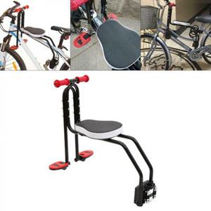 Bisiklet Katlanabilir Çocuk Bisiklet Koltuk Çocuklar Eyer Bisikleti Ön Montaj Çocuk Güvenliği Ön Koltuk Eyer Taşıyıcı Aksesuarları 5.