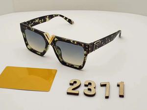 2371 Lüks Açıklayan Gözlük Retro Vintage Erkekler Tasarımcı Gözlük Parlak Altın Yaz Tarzı Lazer Altın Kaplama En Kaliteli