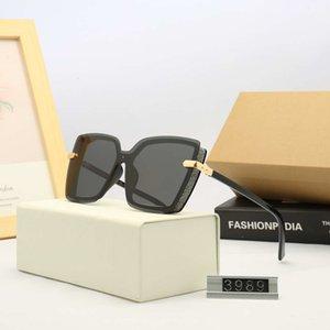 Новые летние солнцезащитные очки бренд солнцезащитные очки женские пляжные очки UV400 D10 3989 5 цветов высокое качество с коробкой