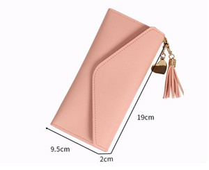 Hot sale and wholesale 2020 fashion ladies single cheap wallets women pu leather wallet lady ladies long purse