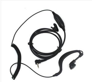 1 PIN PTT Earpiece MIC FOR Motorola Radios Curl Line 2.5mm T6200 T6210 T6220 T6250 T6300 T6400 T7200 Black C021 Alishow 20