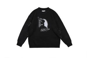 2019 New Ich bin ein wenig Weired Printed Pullover Männer Frauen beiläufige Pullover Hiphop Street Geist fangen Sie Pullover Männer Pullover