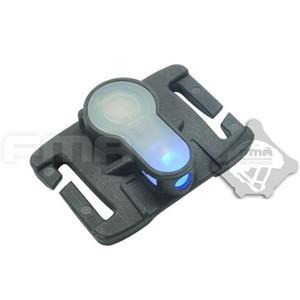 FMA S-LITE Sistema de Segurança Capacete de Luz 6 cores Survival Waterproof Lamp HighLow Temperatura Resistência Molle Strobe Light Signal
