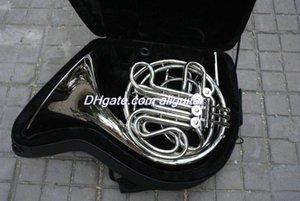 4 gros corps double clé français Silver Horn Lacquer F / Bb en laiton avec étui Livraison gratuite