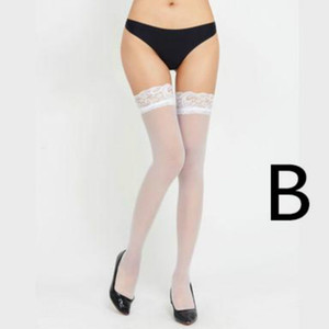 Womens Designer Sexy Lace Transparent Stockings Womens Brand Over Knee Stockings Fashion Perspective Sock Top Quality Wholesale