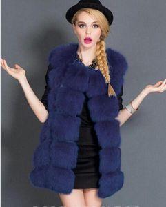 Minyue мода из искусственного шуба зима 2018 женщин повседневная тонкий без рукавов искусственный меховой жилет зимняя куртка женщин