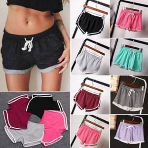 Frauen Casual Running Sports Shorts Yoga Gym Jogging-Taillenbund Sommer Hot Hose