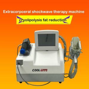 EWT Shock Wave Cryotherapy que adelgaza la máquina de Cryolipolysis de la talladora del cuerpo / la terapia caliente de la ganancia de la venta para el cryolipolysis de la disfunción ED