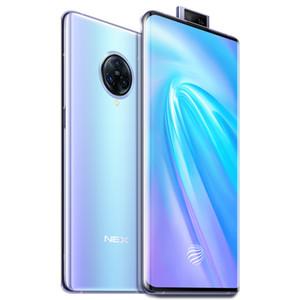 "Orijinal Vivo Nex 3 5G Mobil Telefon 8 GB RAM 256GB ROM Snapdragon 855 Artı Octa Çekirdek Android 6.89"" 64MP NFC Face ID Parmak İzi Kimlik Cep Telefonu"