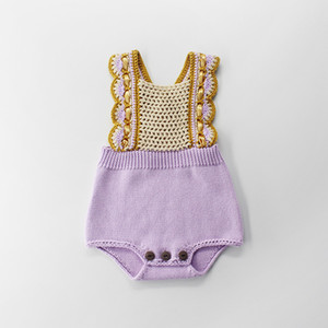 Çocuklar giysi tasarımcısı kızlar romper Lolita bebek kız Tatlı Tiki Tarzı romper bebek kız Yaz İngiltere Stil romper
