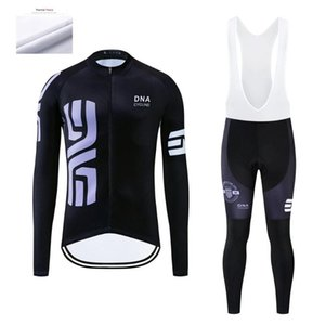 DNA Radfahren Herren Winter Radtrikot Sets Ropa Ciclismo Thermal Fleece-Bekleidung Wear Bike Pants mit Gel-Padded