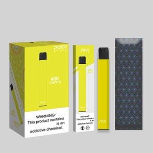 Original Poco-Stick Einweg vape Pod-Kit 300mAh Akku 1,4 ml Gerät Pods Vape Pen e-Zigarette Vaporizer Puff Bars Pop bidi-Stick