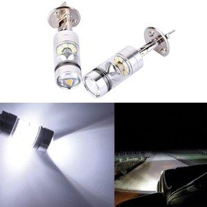 2PCS H1 6000K Super Branco 100W LED Headlight Bulbs Kit nevoeiro Driving