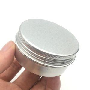 15ml vaso 25ml Alluminio lattine 10ml 20ml Metallo Alluminio vasi vuoti slip slide Tin vite 80ml lattine Lid Container 30ml 50ml 5ml Ja Hrccv