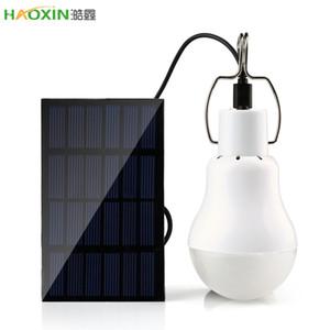 Haoxin 15W 130lm Portable WholeSale Ampoule LED Dropshipping solaire extérieur Lumière solaire Lampe Ampoule Portable Lampe énergie solaire éclairage LED