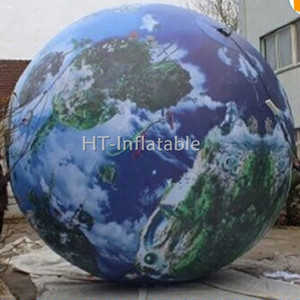 Free Shipping 3m Best Quality Inflatable World Globe, Inflatable Earth Globe, Inflatable Giant Globe Ball for Events