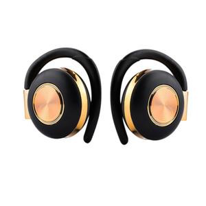 Auriculares estéreo de aire V5 TWS inalámbrica Bluetooth 5.0 para auriculares del gancho del oído de cancelación de ruido auriculares Bluetooth con micrófono