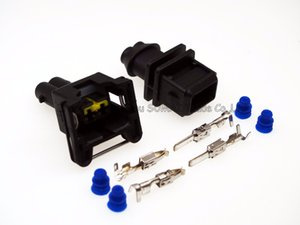 2 Pin 3.5m Männlich-weiblich Auto-Öl-Düse-Stecker, Sensorstecker, Injector Stecker für Toyota, Honda, Nissan Auto