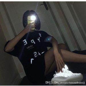 Womens Summer 19SS Letter Print Tshirts Crew Neck Short Sleeve Bleck Fashion Clothing Ambush Female Tees
