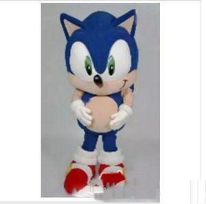 2019 de alta calidad de Sonic the Hedgehog Mascot Costume Sonic Mascot Costume