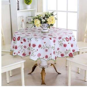 Домашний декор 152 см пастырской Floaral круглый пикник водостойкий масло доказательство скатерть бытовой