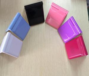 Hot High Quality LED Trucco Specchio Pieghevole Pieghevole Pocket Compact Pocket 6 Colori Lady LED Specchio Lampade a luci JXW340